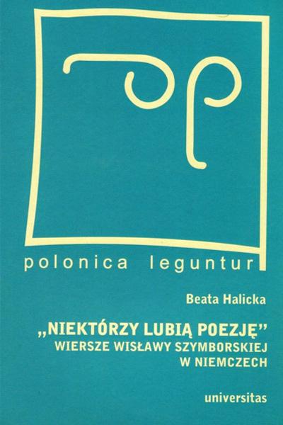 Wiersze Wisławy Szymborskiej w Niemczech